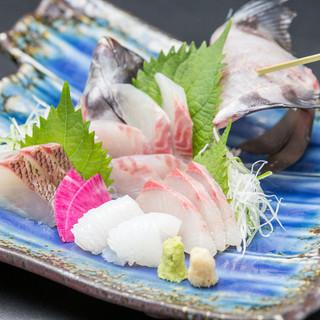 能登島漁師さん直送だから鮮度抜群!季節の旨い魚が揃っています