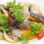 市場直送 本日の鮮魚のカルパッチョ