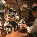 炭焼き&ワイン ドリフト - ハモンセラーノ スライス中♡
