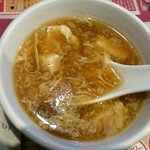 63378803 - ナメコと豆腐のスープ