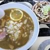 寺カフェ 中華そば水加美 - 料理写真:煮干しそば+豚めし