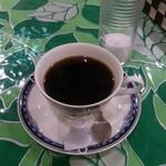 ミンガラバー - ・(ランチ)サービスのコーヒー