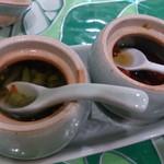 ミンガラバー - ・お酢とナンプラー