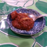 ミンガラバー - ・(ランチ)牛肉のスパイシー煮込み 醗酵風味ありの辛いペースト
