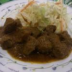 ミンガラバー - ・(ランチ)牛肉のスパイシー煮込み 880円