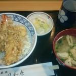 63381684 - 上天丼(ご飯大盛り)750円