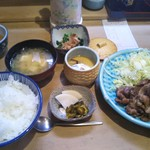 63382300 - 豚肉生姜焼き定食 900円(税込)(2017年2月27日撮影)