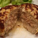ビストロ ビンゴ - ハンバーグの肉汁