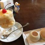出島内外倶楽部 - ミルクセーキと一口香