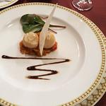 マゼランズ - 帆立貝のポワレ、バルサミコソース