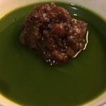 GINZA 水野 - 抹茶ゼリー