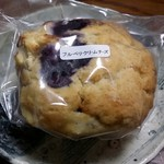 タナカフェプラスコーヒーロースター - ブルーベリークリームチーズマフィン