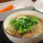 台湾佐記麺線&台湾バル888 - 麺線(台湾煮込みそうめん)