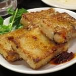 台湾佐記麺線&台湾バル888 - 大根モチ 新竹在住張さん直伝版