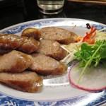 台湾佐記麺線&台湾バル888 - 自家製・台湾ソーセージ(香腸)