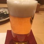 鯛良 - 生ビール