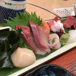 魚市 - お造りd( ̄.  ̄)/