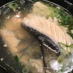 魚市 - お汁〜( ^ω.^ )ノ