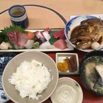 魚市 - 店長おまかせお造り定食ヽ(・∀.・)ノ¥1430円
