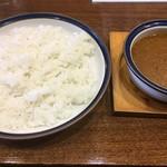 カレーショップ 南陽 - ミンチカレー税込650円
