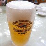 宝雲亭 - 生ビール