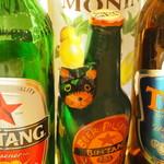 DivingShop&Cafe Gillman - 南国のビールを中心に、飲みやすいビールが多数♪