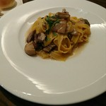 63391033 - 安曇野放牧豚藤仁の赤ワイン煮と、ポルチーニのタリアテッレ