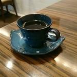 カレス - 食後のホットコーヒー