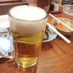 居酒屋 武双 - ドリンク写真:生ビール