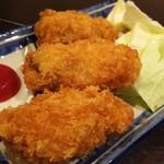 立呑 田んぼ道 - カキフライ250円
