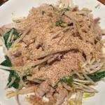 担々麺 梟 - 豚ポン
