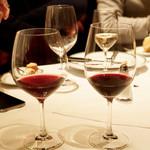 ウルフギャング・ステーキハウス - グラスワインの赤
