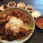 ネパール民族料理 アーガン - 「ネワリボジセット」1,680円