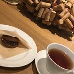 aoyama bouchon amuser - デザートと紅茶