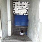 マヌエル・カーザ・デ・ファド - 地下1階に下ります。