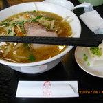 中華 百華園 - 味噌ラーメン