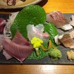 魚彩鶴巳 -