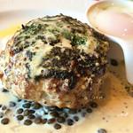 肉バル MARCO - 料理写真:チャレンジしたホワイトソース!                     でも私的にはこれが好きです。