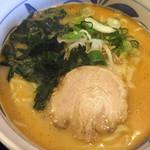 のっぴんらー麺 - 初めて味わうスープでした。