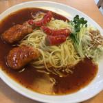 プチ・トマト - 料理写真:ナゲットと赤ウインナー3本(と書いてあったような)