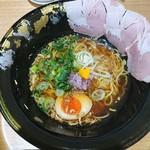 くろす - 鶏煮干し醤油らーめん850円