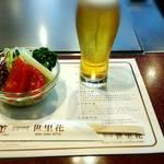 鉄板焼ステーキ世里花 - サラダとビール☆