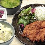 籠屋 八兵衛 - ランチ チキンカツ定食