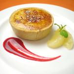 RIZ CAFE - メニュー写真:レストラン:焼きたて!ふわとろチーズタルト
