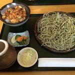63408458 - もり+小海老かき揚げ丼¥1000