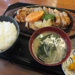 豚菜 - ポークソテー定食