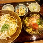 居食屋「和み亭」 - そば、うどんとミニ丼セット780円