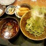 居食屋「和み亭」 - かきのきのこのつけうどんセット890円
