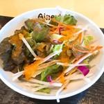 アイニーズ - 麻婆豆腐セットのサラダ