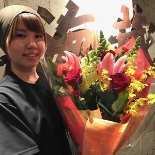 歓送迎会の幹事様に!主役の方に贈る花束をお得な価格で手配可能